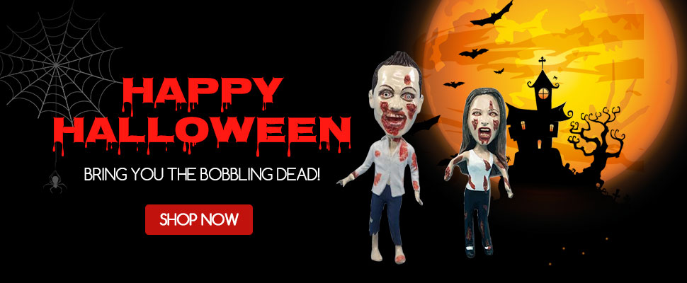 Happy Halloween greeting from YesBobbleheads