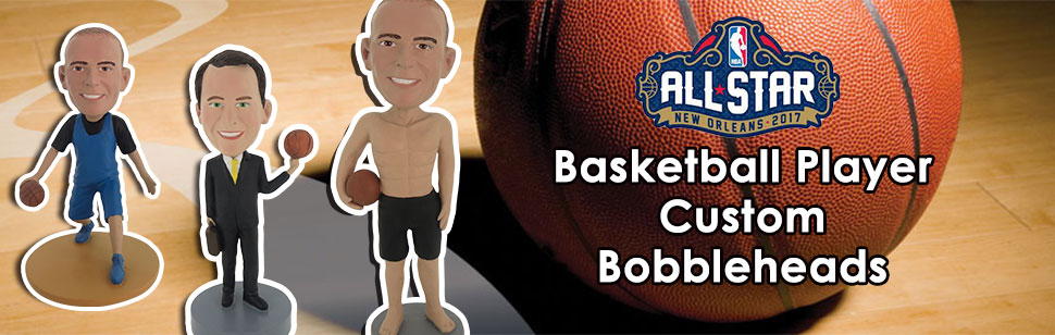 Stock a Basketball Bobblehead for NBA Season