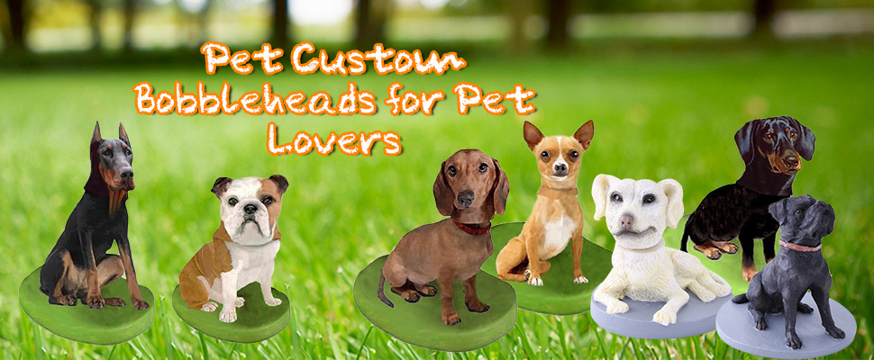 Pet Custom Bobbleheads for Pet Lovers