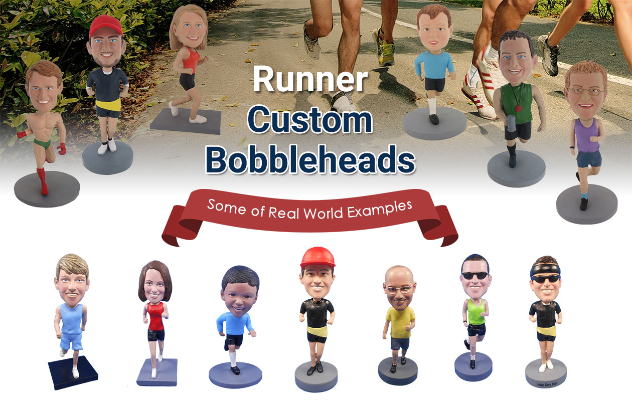 Runner Custom Bobbleheads