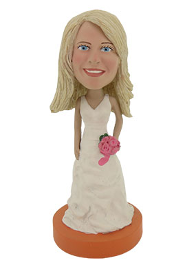 Bridesmaid Custom Bobbleheads