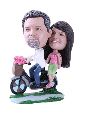 Bicycle Custom Bobbleheads