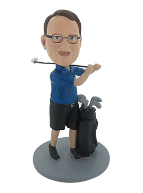 Golf Player Custom Bobbleheads
