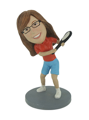 Tennis Player Custom Bobbleheads