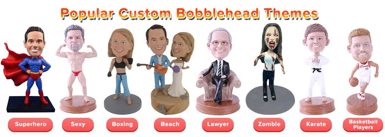 Custom Bobbleheads Themes