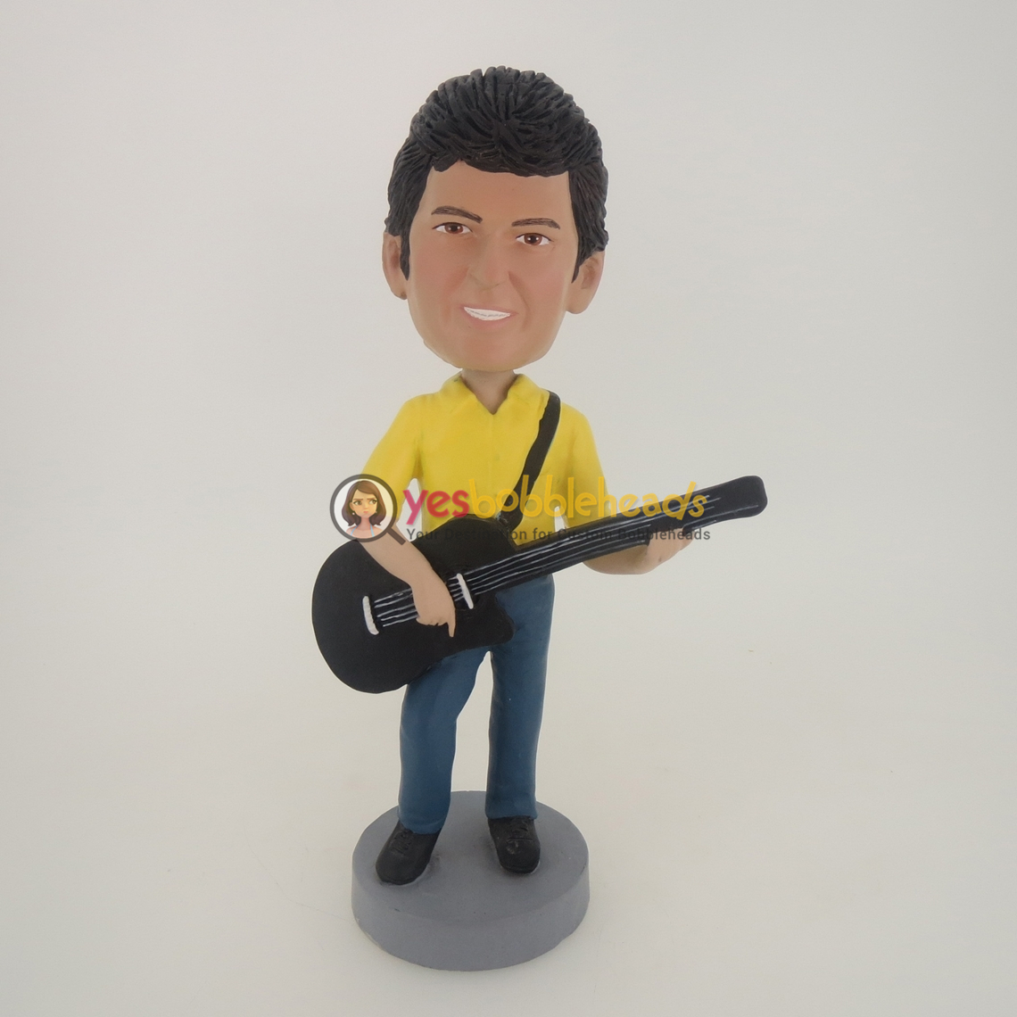 Picture of Custom Bobblehead Doll: Acoustic Guitar Man