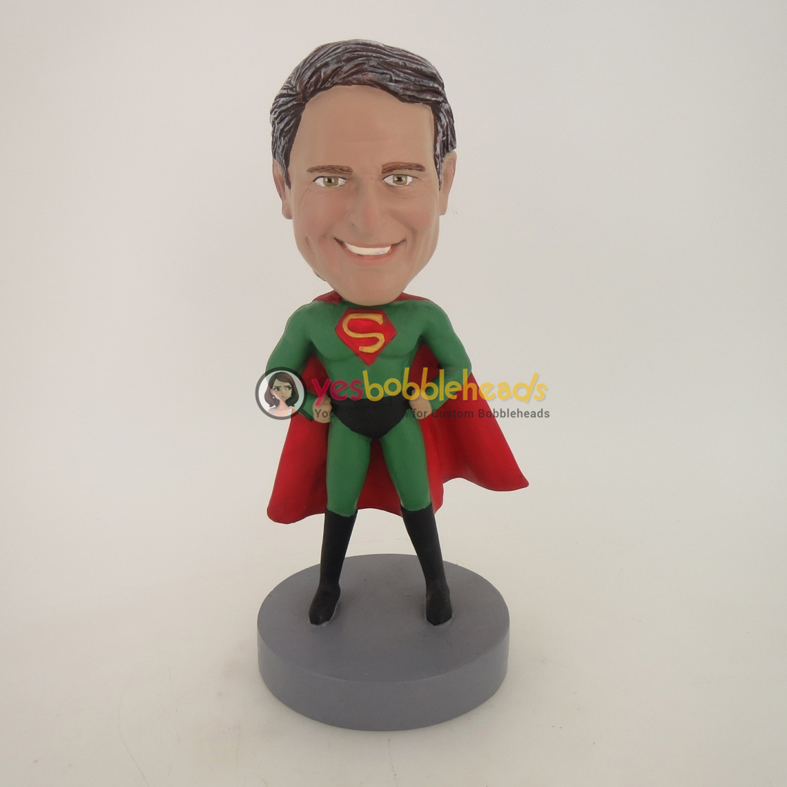 Picture of Custom Bobblehead Doll: Arms Akimbo Superman