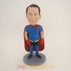 Picture of Custom Bobblehead Doll: Arms At Sides Superman