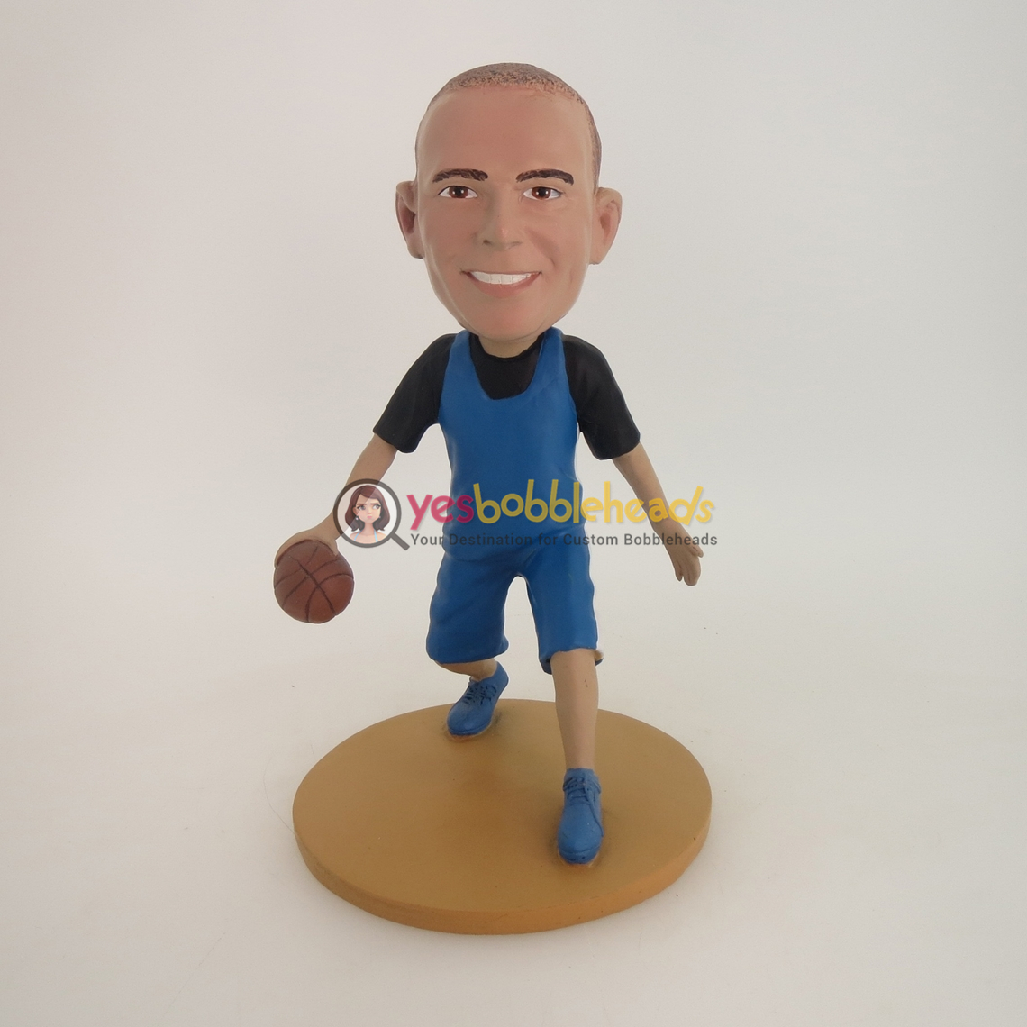 Picture of Custom Bobblehead Doll: Basketball Player