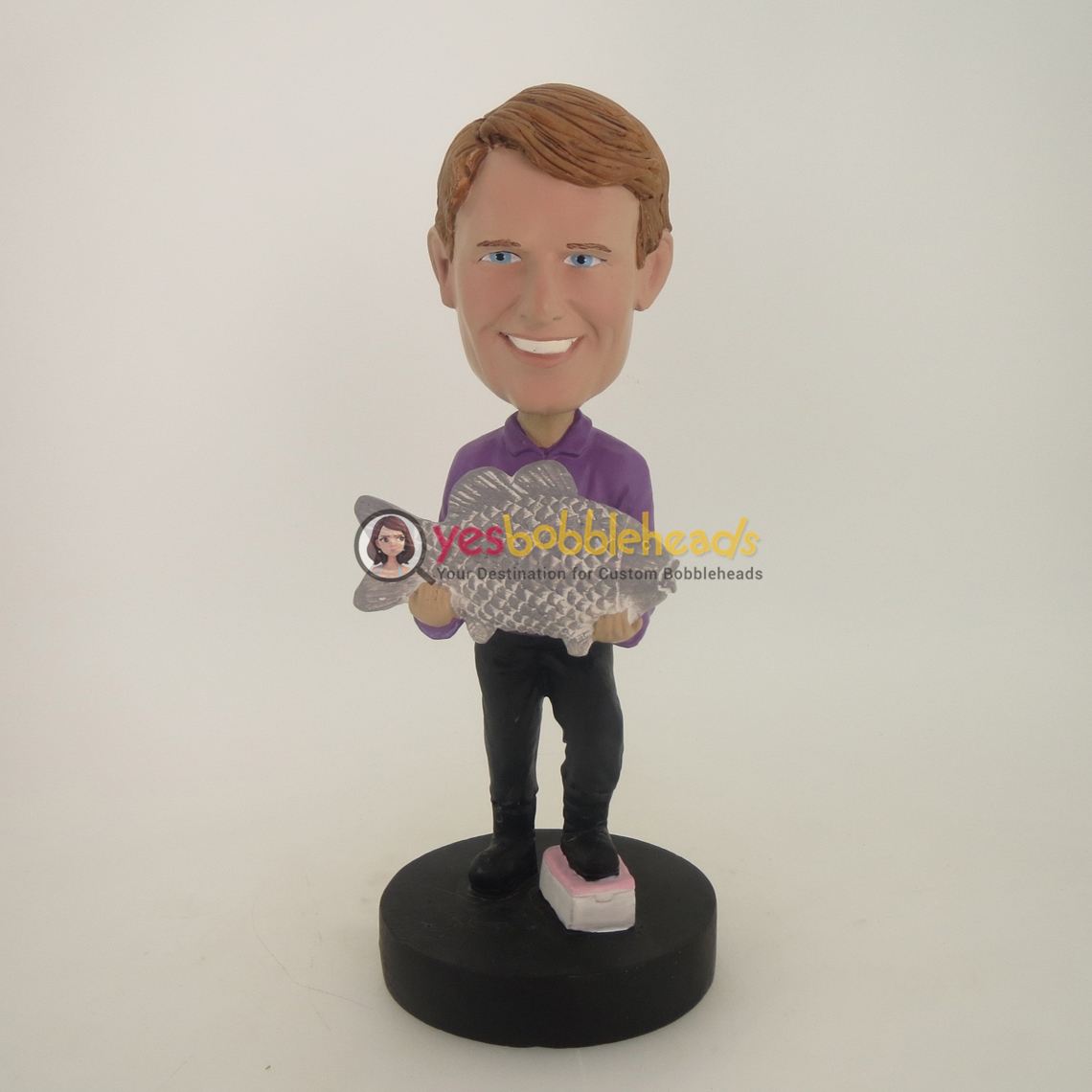 Picture of Custom Bobblehead Doll: Big Catch Fisherman