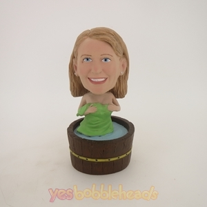 Picture of Custom Bobblehead Doll: Bathing Woman