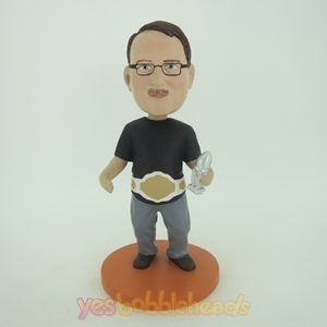 Picture of Custom Bobblehead Doll: Boxing Champion