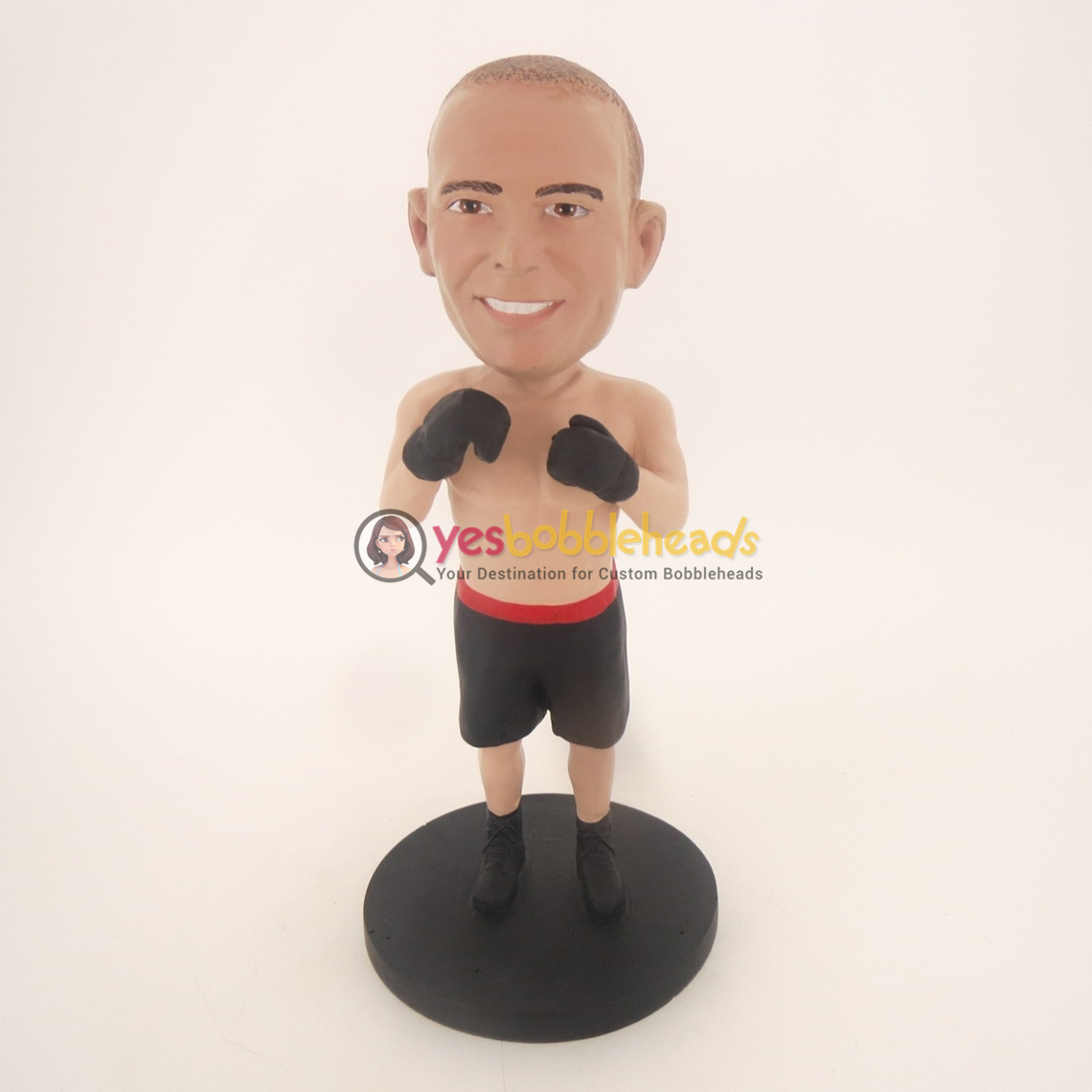 Picture of Custom Bobblehead Doll: Boxing Man