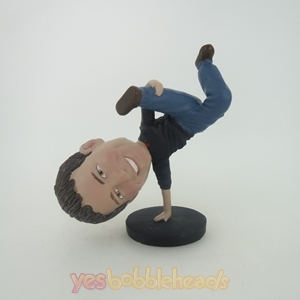 Picture of Custom Bobblehead Doll: Breakdancing Man