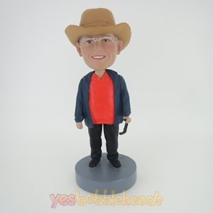 Picture of Custom Bobblehead Doll: Cowboy Customized