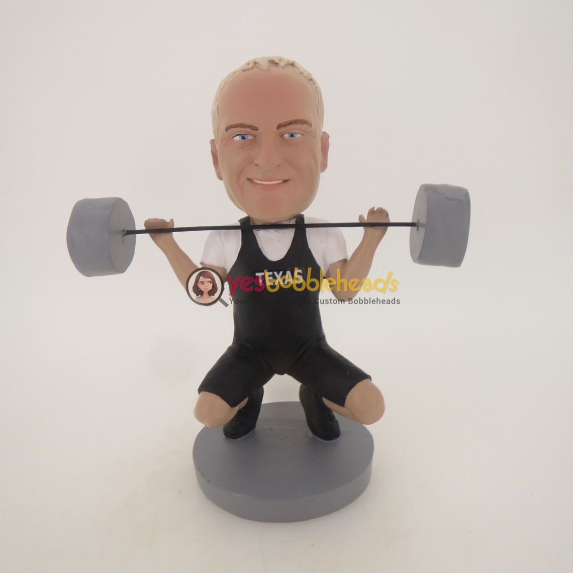 Picture of Custom Bobblehead Doll: Dead Lift Male
