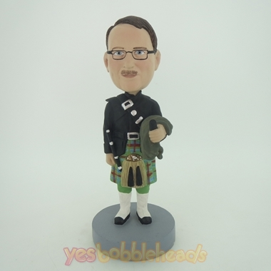 Picture of Custom Bobblehead Doll: English Group Police Officer