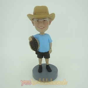 Picture of Custom Bobblehead Doll: Fisherman With Fish