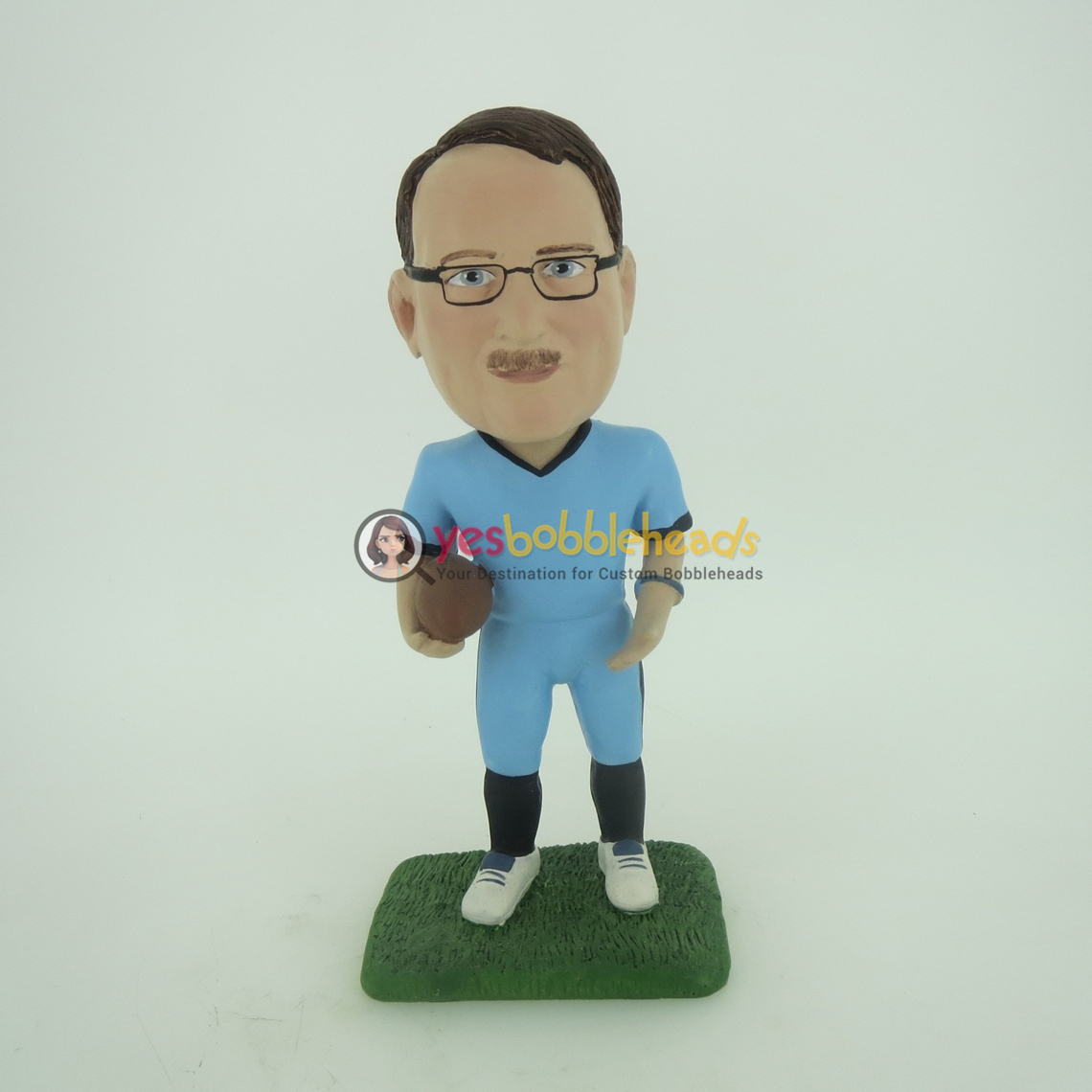 Picture of Custom Bobblehead Doll: Football Player
