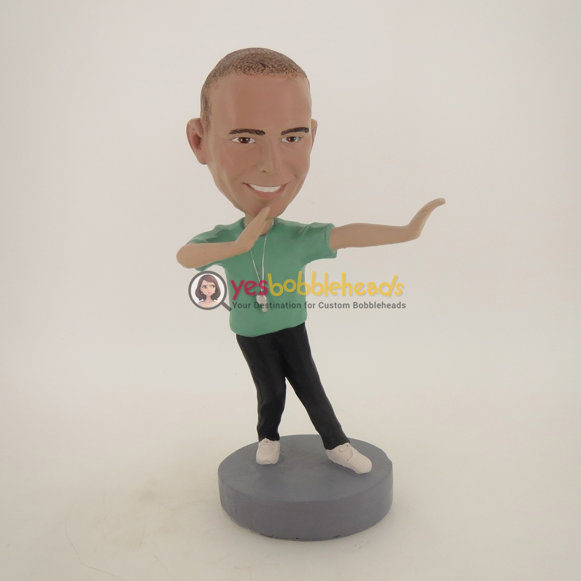 Picture of Custom Bobblehead Doll: Football Referee