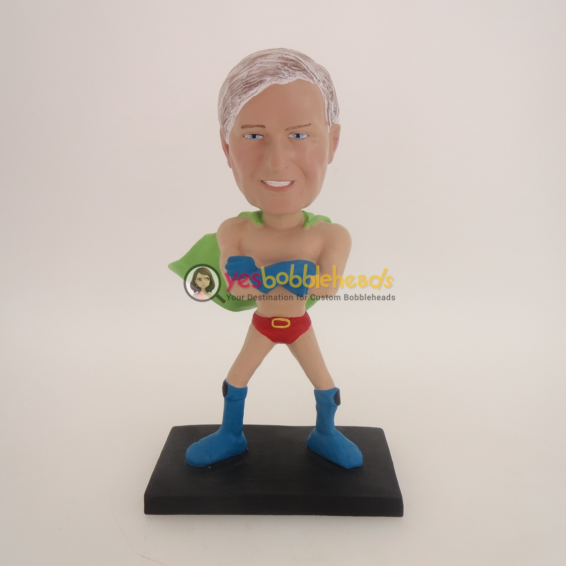 Picture of Custom Bobblehead Doll: Funny Superman