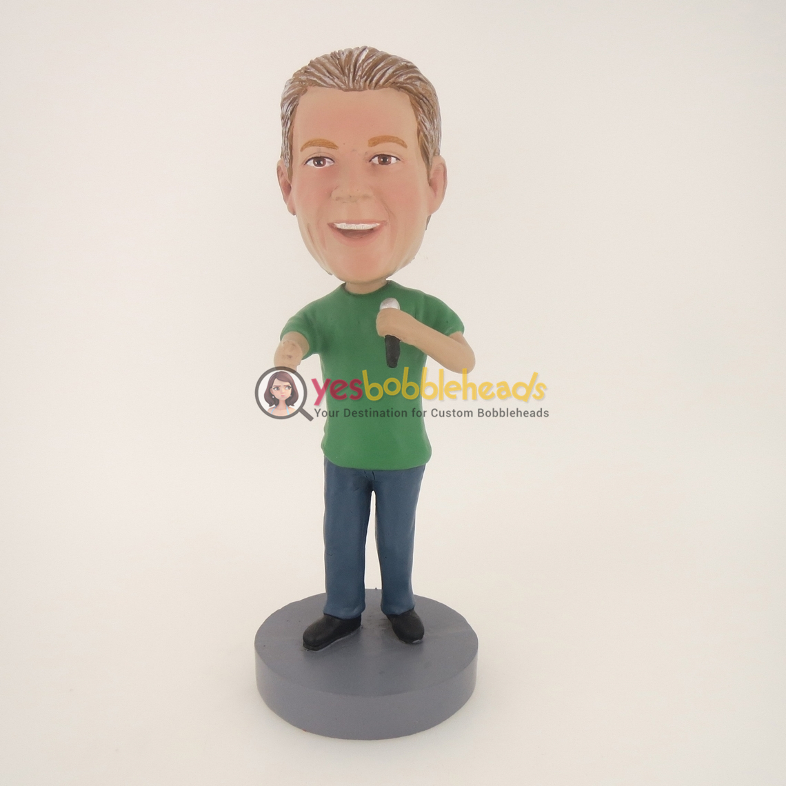 Picture of Custom Bobblehead Doll: Game Commentary Man