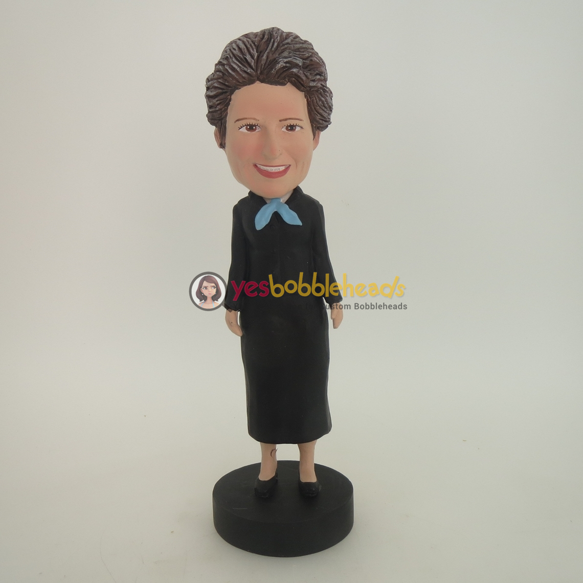 Picture of Custom Bobblehead Doll: Black Dress Mother
