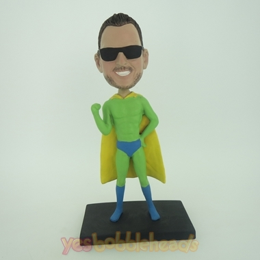 Picture of Custom Bobblehead Doll: Green Superman