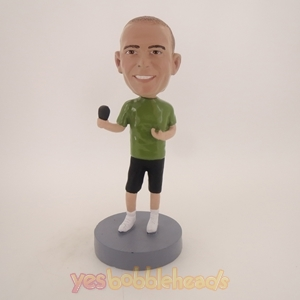 Picture of Custom Bobblehead Doll: Hip Singer Male