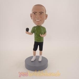 Picture of Custom Bobblehead Doll: Hip Singer Male
