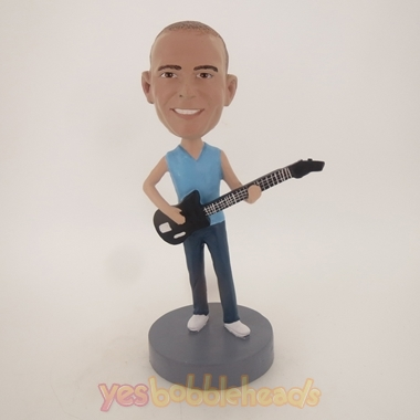 Picture of Custom Bobblehead Doll: Hipster Rocker