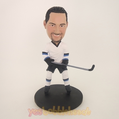 Picture of Custom Bobblehead Doll: Hockey Player