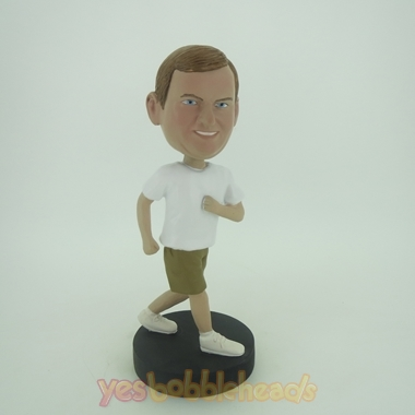 Picture of Custom Bobblehead Doll: Jogging Man