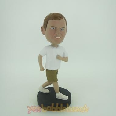 Picture of Custom Bobblehead Doll: Jogging Man