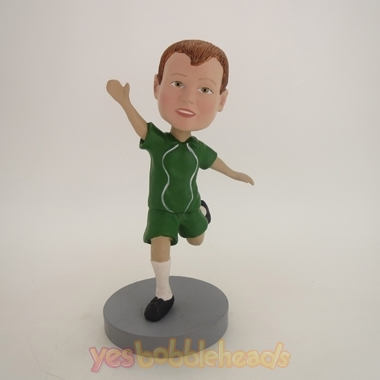 Picture of Custom Bobblehead Doll: Kick Posture Boy