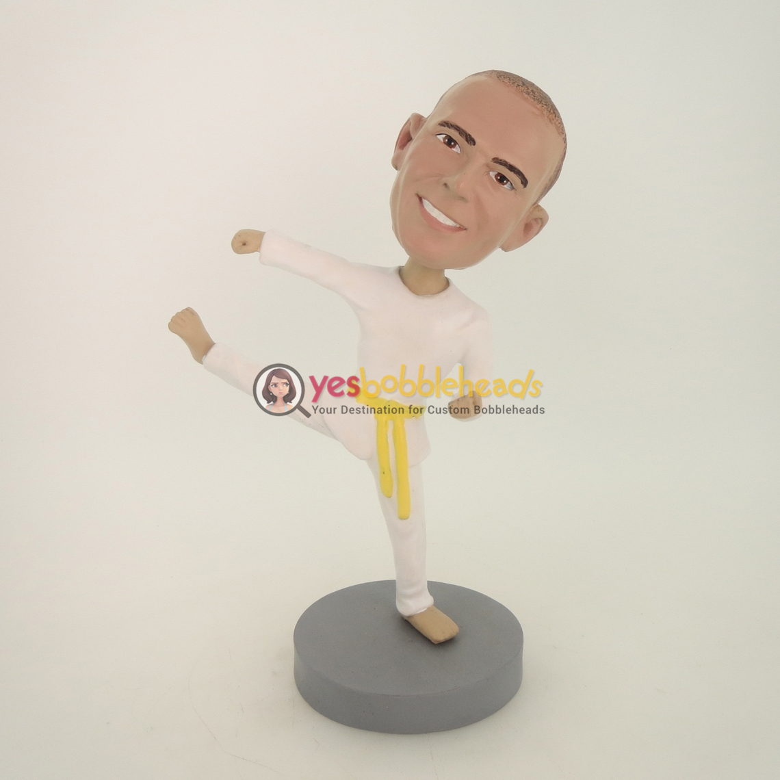 Picture of Custom Bobblehead Doll: Kungfu Man