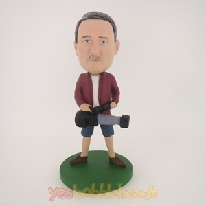Picture of Custom Bobblehead Doll: Male Photographer