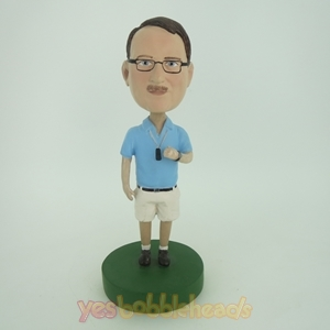 Picture of Custom Bobblehead Doll: Male Referee