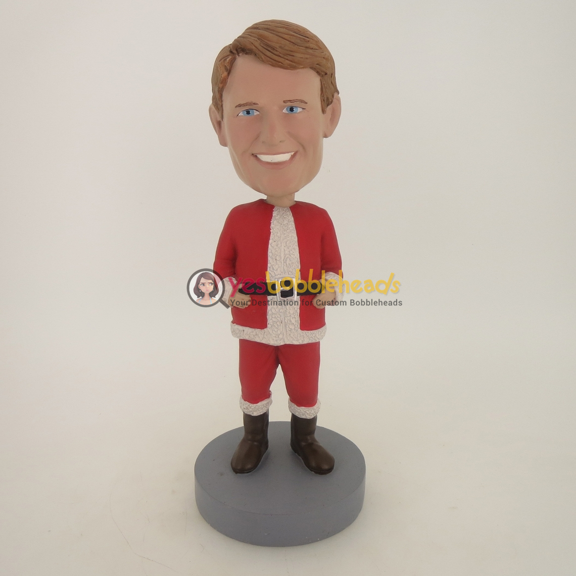 Picture of Custom Bobblehead Doll: Male Santa