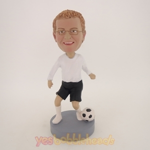 Picture of Custom Bobblehead Doll: Male Soccer Player
