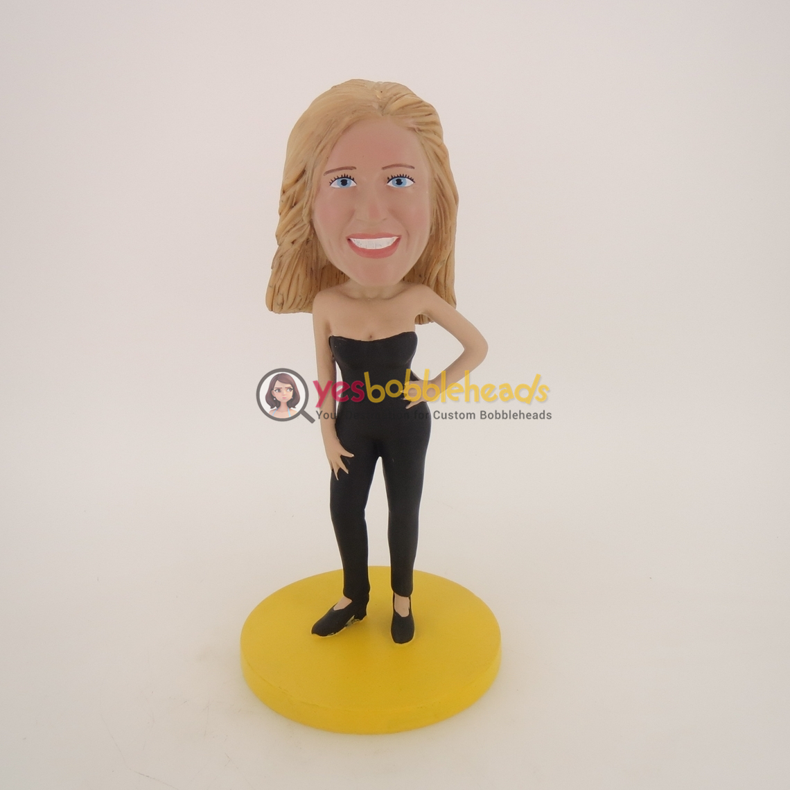Picture of Custom Bobblehead Doll: Black Vest Girl