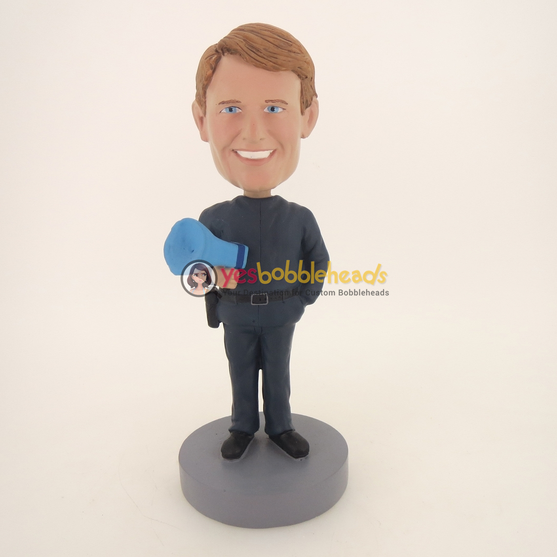 Picture of Custom Bobblehead Doll: Man And Horn