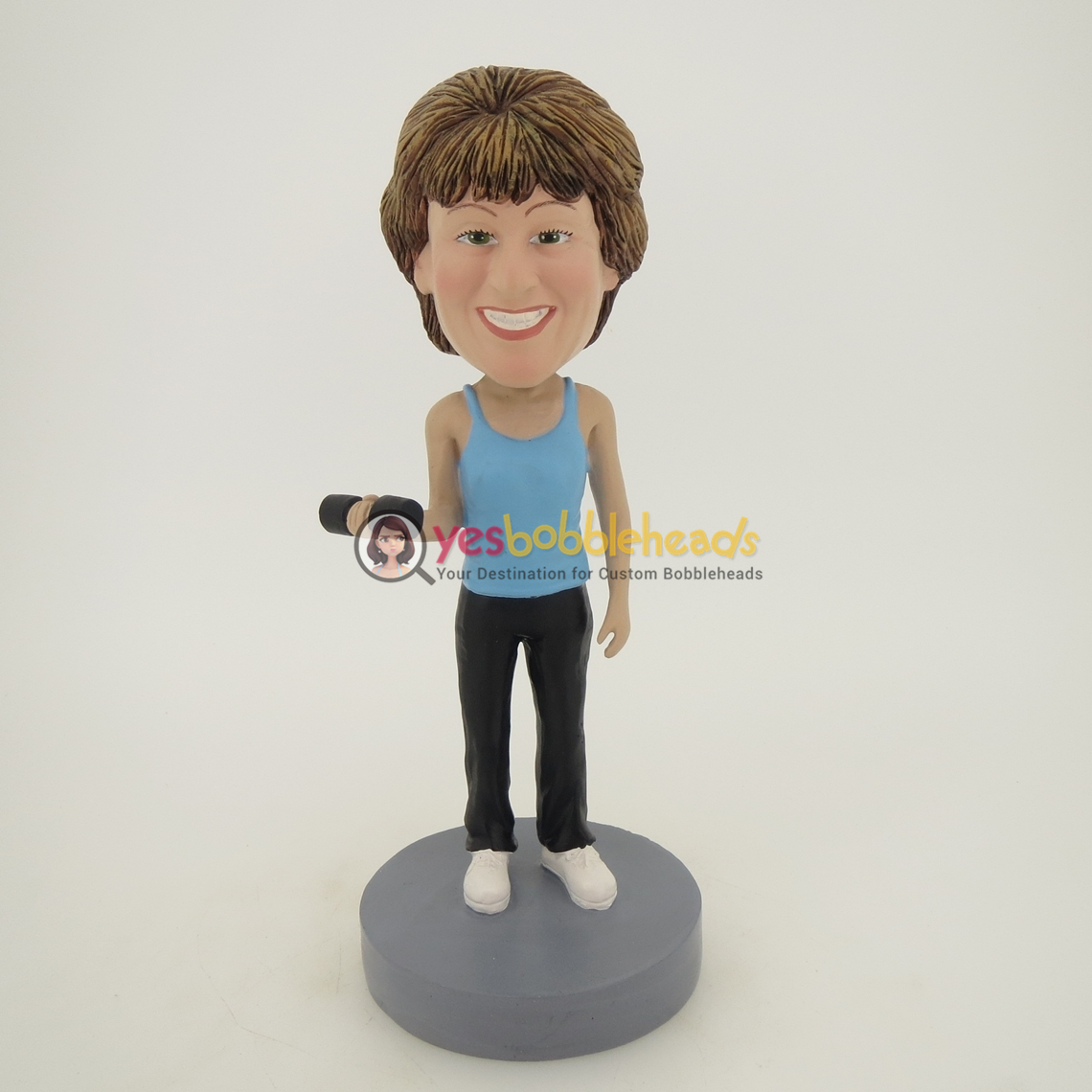 Picture of Custom Bobblehead Doll: Body Building Woman