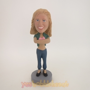 Picture of Custom Bobblehead Doll: Cardigan Girl