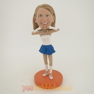 Picture of Custom Bobblehead Doll: Cheerleaders