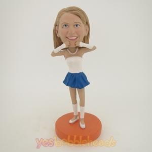 Picture of Custom Bobblehead Doll: Cheerleaders