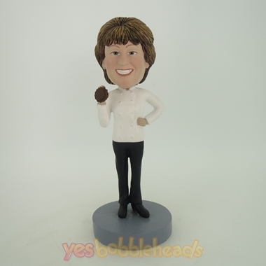 Picture of Custom Bobblehead Doll: Cooking Woman
