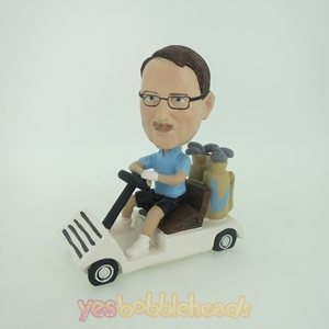 Picture of Custom Bobblehead Doll: Man In Kart