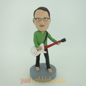 Picture of Custom Bobblehead Doll: Man Playing Guitar
