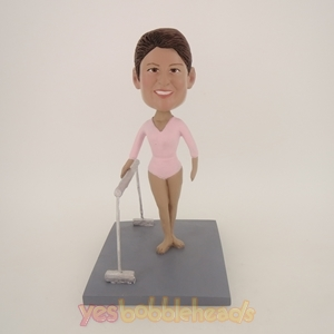 Picture of Custom Bobblehead Doll: Female Horizontal Bar Players